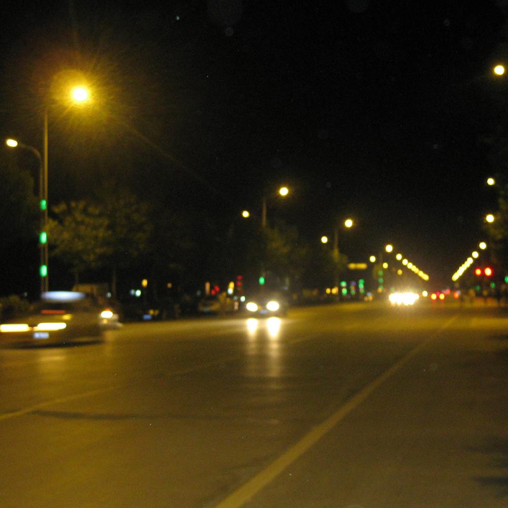 塔城市城市道路照明