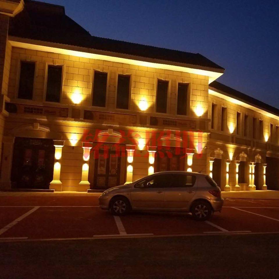nba直播楼体亮化根据城市功能进行夜景设计